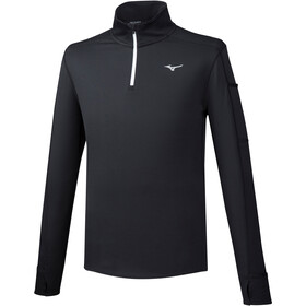 Mizuno Warmalite Half-Zip LS Men black
